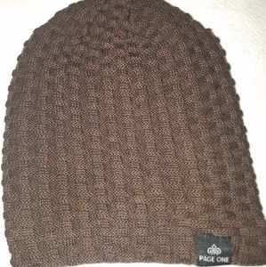 Mens NIP page one winter cap/beanie